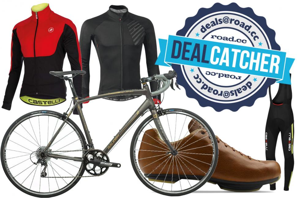 Great cycling deals - Castelli, Raleigh, Giro, & Specialized
