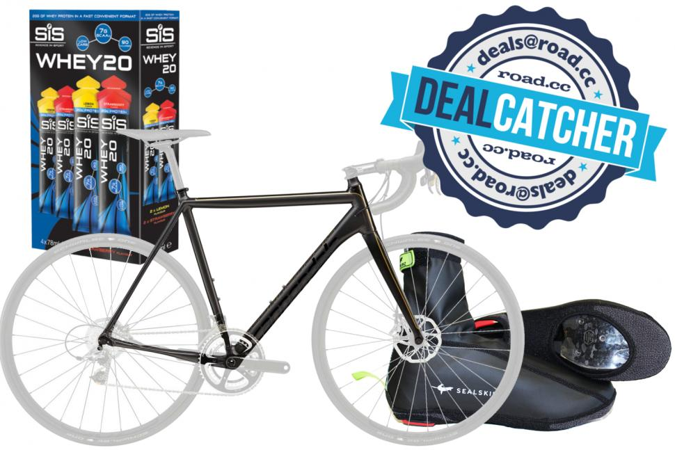 Great cycling deals on a Cannondale CAAD10 frame, SiS protein ...