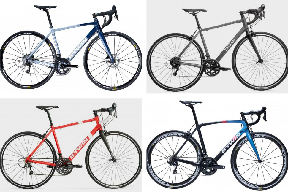 Decathlon road bikes March 2019