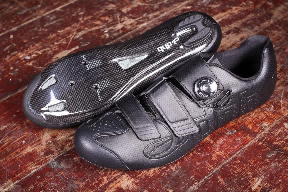 7074717edf774 Review  dhb Aeron Carbon Road Shoe Dial