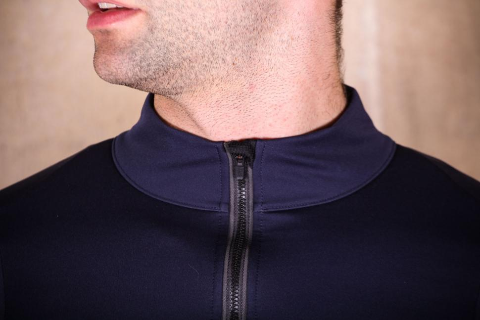 dhb Aeron Lab All Winter Soft Shell Jacket - collar.jpg