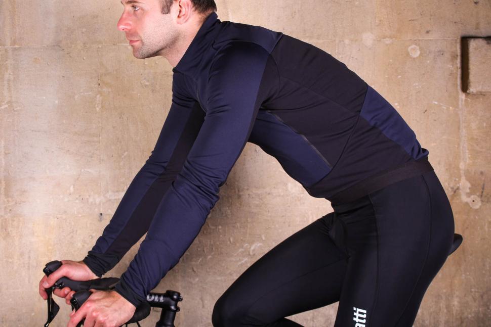 dhb Aeron Lab All Winter Soft Shell Jacket - riding.jpg