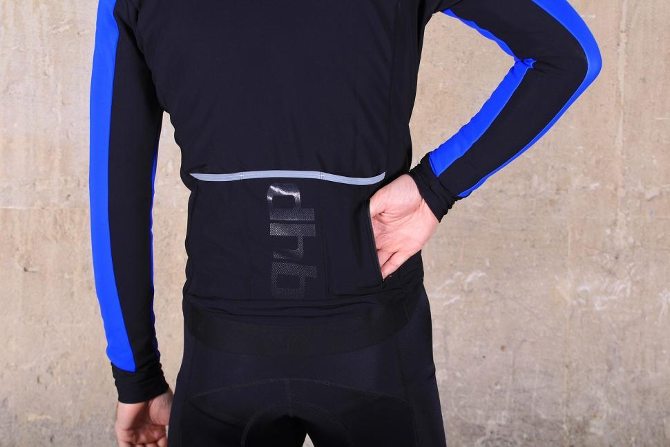dhb Aeron Pro Full Protection Softshell - pocket zipped.jpg