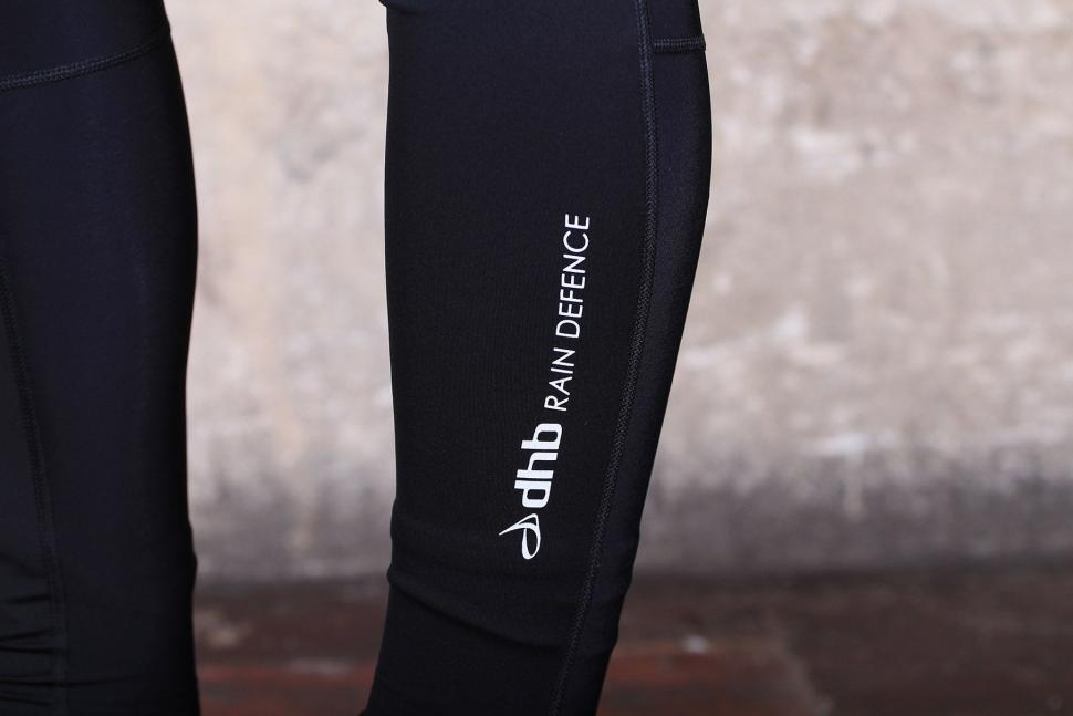 dhb Aeron Rain Defence Leg Warmers - logo.jpg