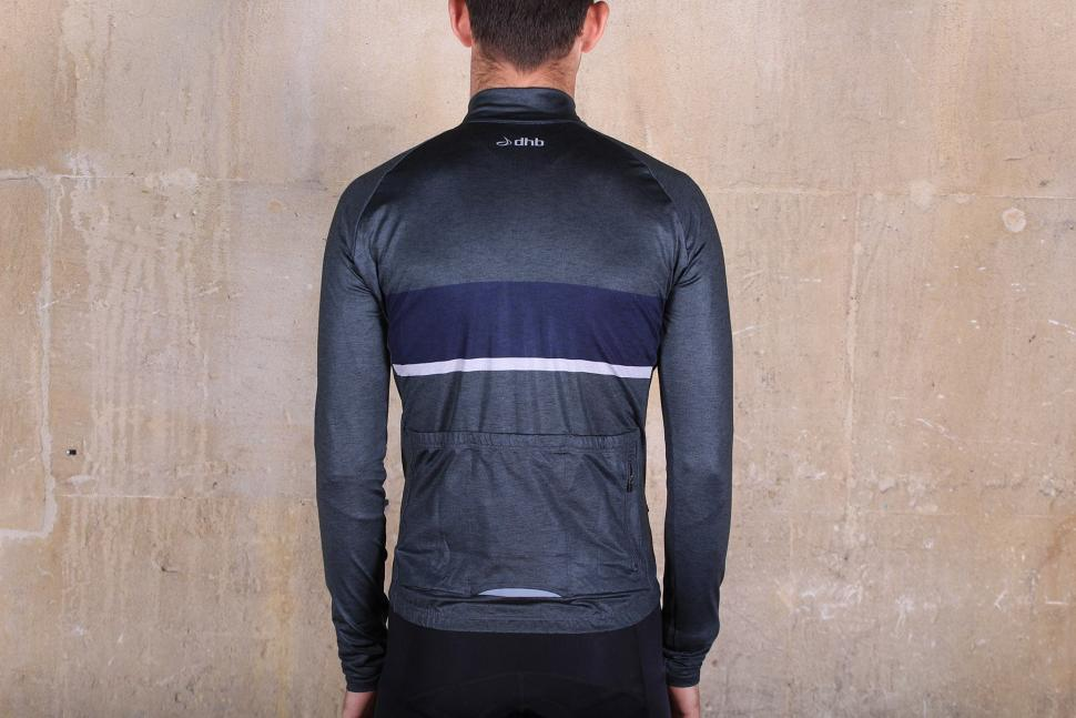 Review  dhb Classic Long Sleeve Thermal Jersey Marl  ae4a6103b