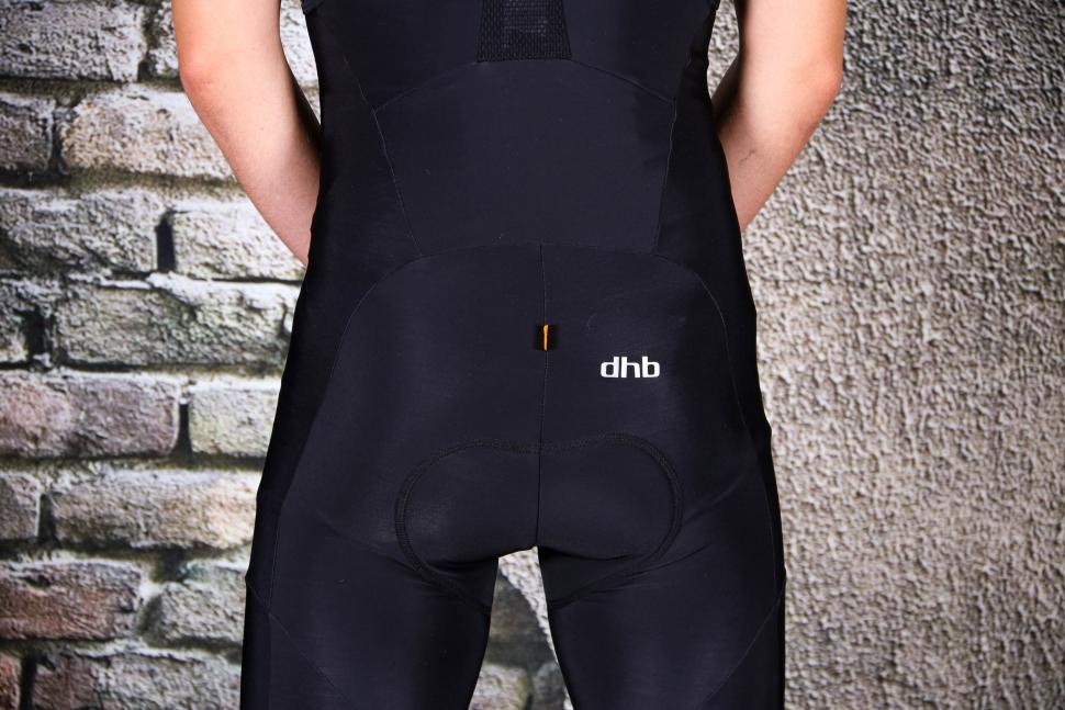 dhb Classic Thermal Bib Tights - back detail.jpg