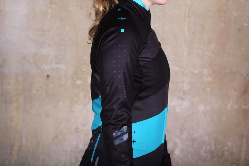 ac1e36e9c dhb Womens ASV Windslam Roubaix Long Sleeve Jersey - side.jpg