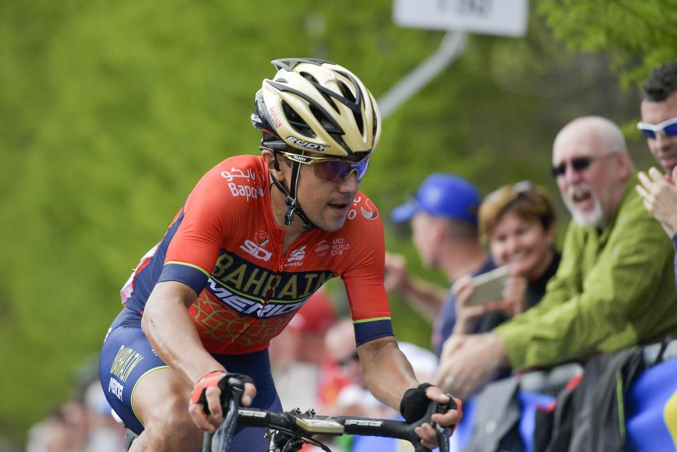 Domenico Pozzovivo (picture credit RCS Sport, LaPresse)