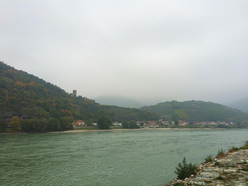 Down the Danube - Rainy danube.jpg