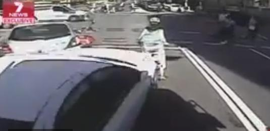 Driver rear-ends Sydney cyclist (via news.com_.au).PNG