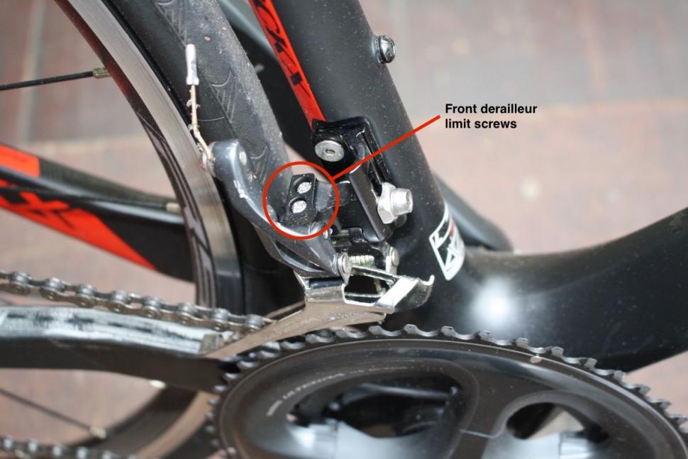 How to stop your chain coming off — a dropped chain can damage your