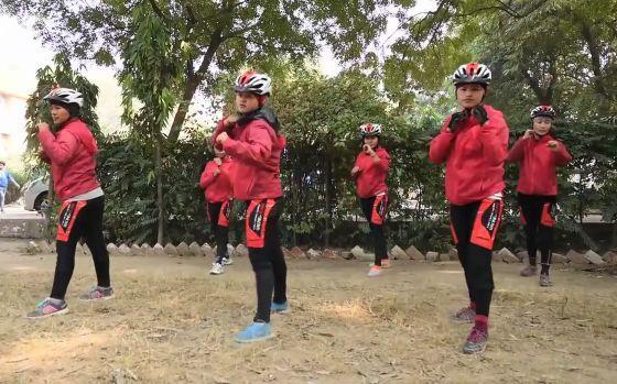 Drukpa order Kung Fu Nuns (source Mint YouTube video still).JPG