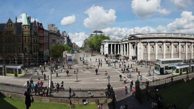 Dublin's College Green (source Paddy Smyth on YouTube).JPG
