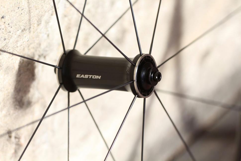 Easton EA90 SLX Road Wheelset - front hub.jpg