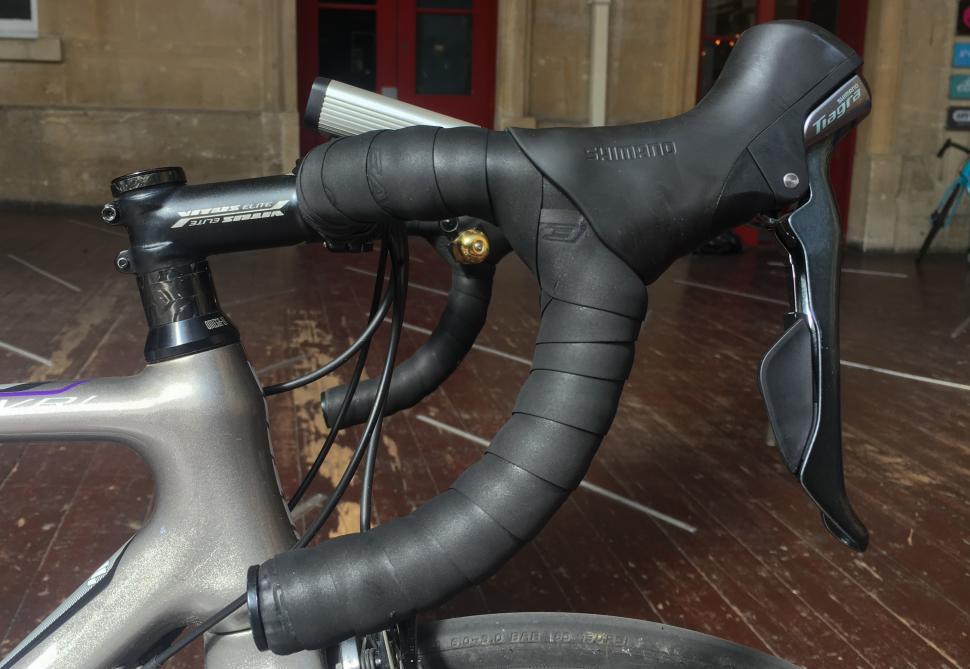 Easton Foam Bar Tape on bike