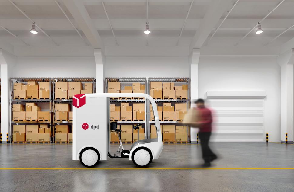 eav cargo bike DPD warehouse 01