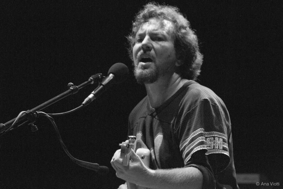 Eddie Vedder (Side Stage Collective via Flickr)