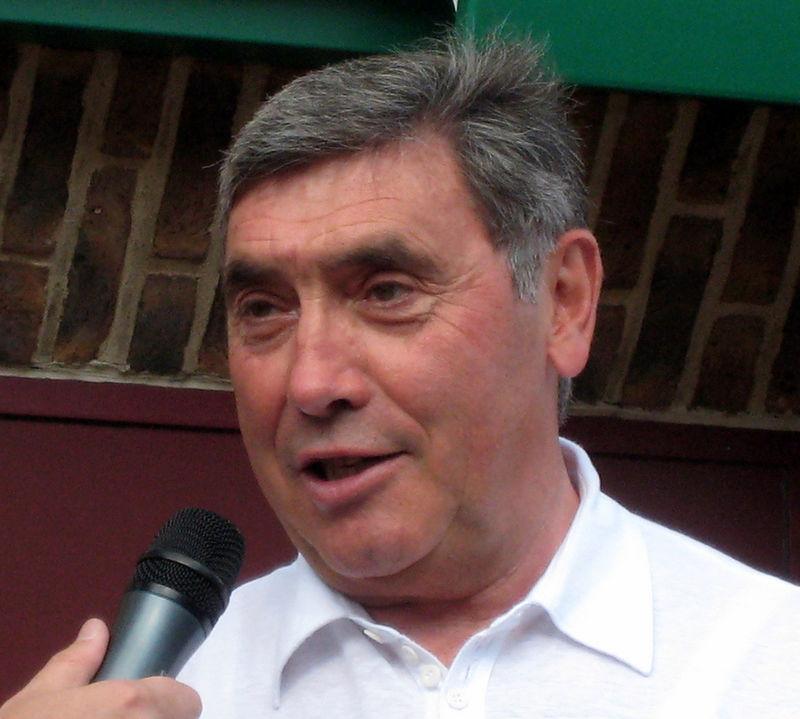 Cycling legend Merckx (74) in hospital after bike crash