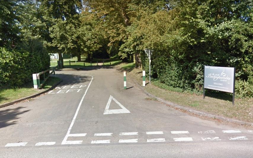 Entrance to South Bucks Academy (via StreetView)