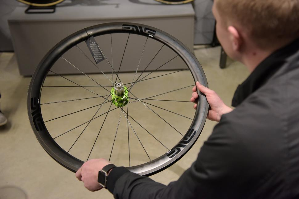 First Ride Enve Ses 3 4 Carbon Fibre Clincher Wheels