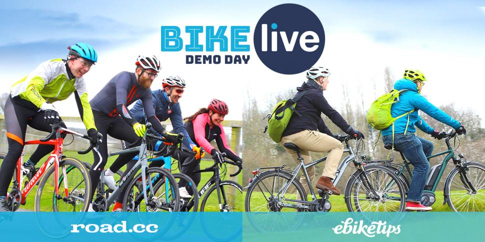 BikeLive Bath demo day road.cc live Feb 2018