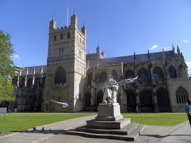 Exeter Cathedral (licensed CC BY SA 2.0 on Flickr by David Sivyer).jpg