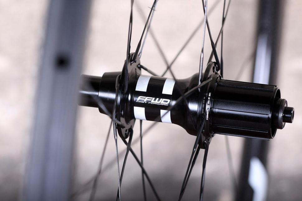 Fast Foward F3R Full Carbon Clincher Wheelset - rear hub 2.jpg