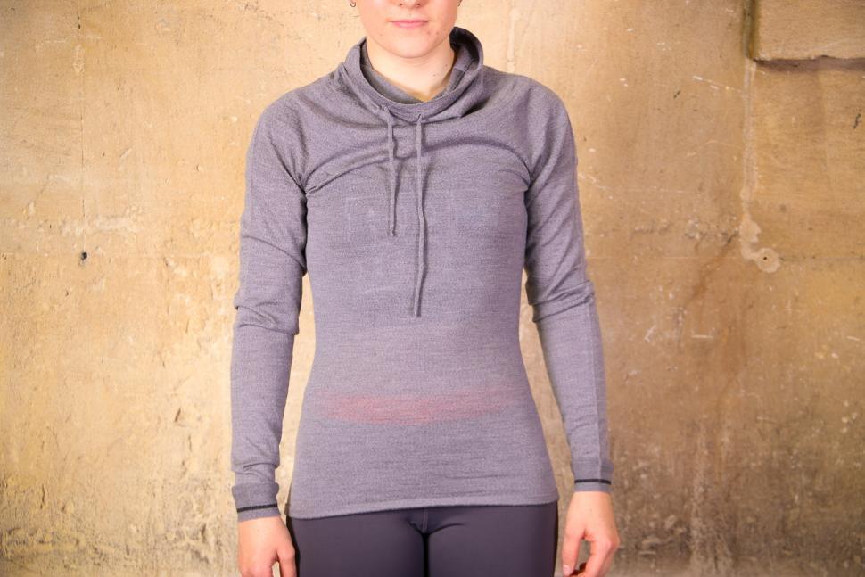 Findra Caddon Merino Wool Cycling Jersey in Slate Grey.jpg