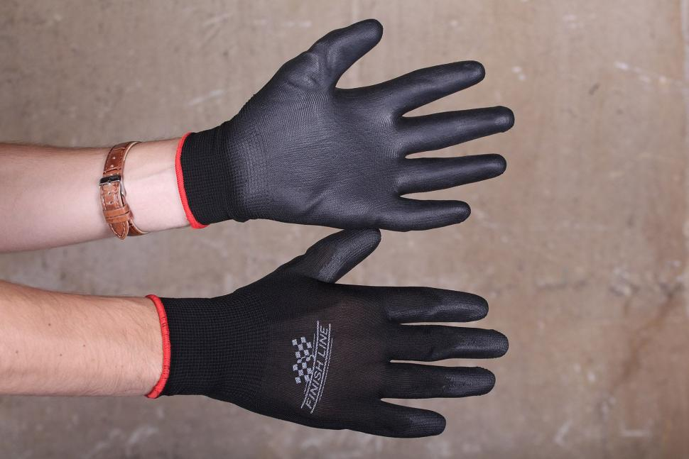 Review Finish Line Mechanic Grip Gloves Road Cc