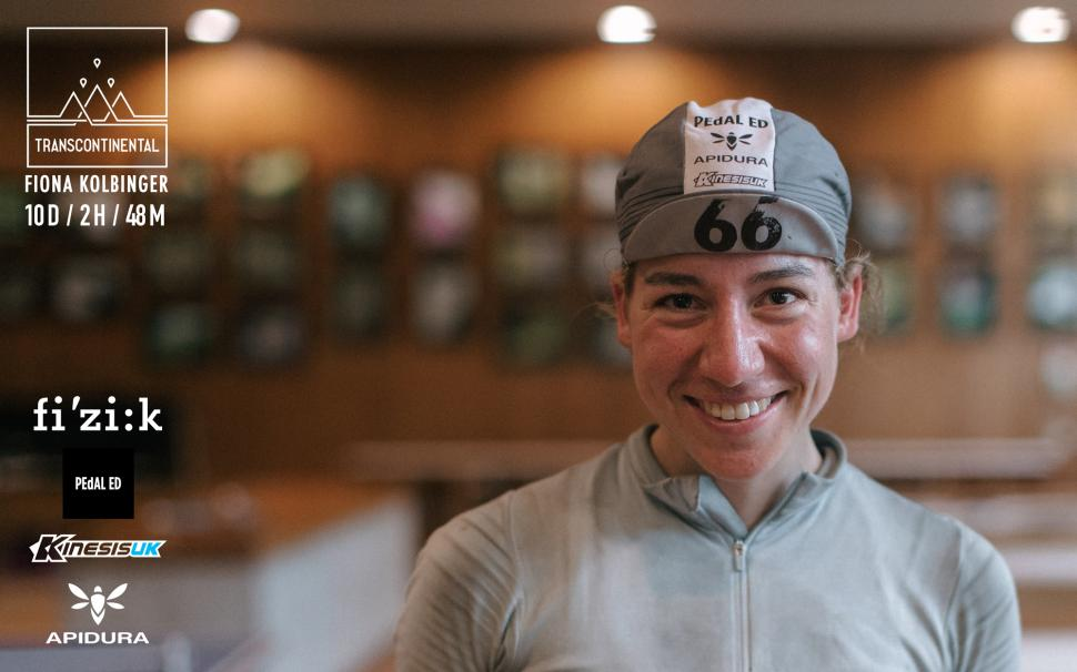 Fiona Kolbinger Transcontinental win_Credit AngusSung.co_.uk for Transcontinental.cc