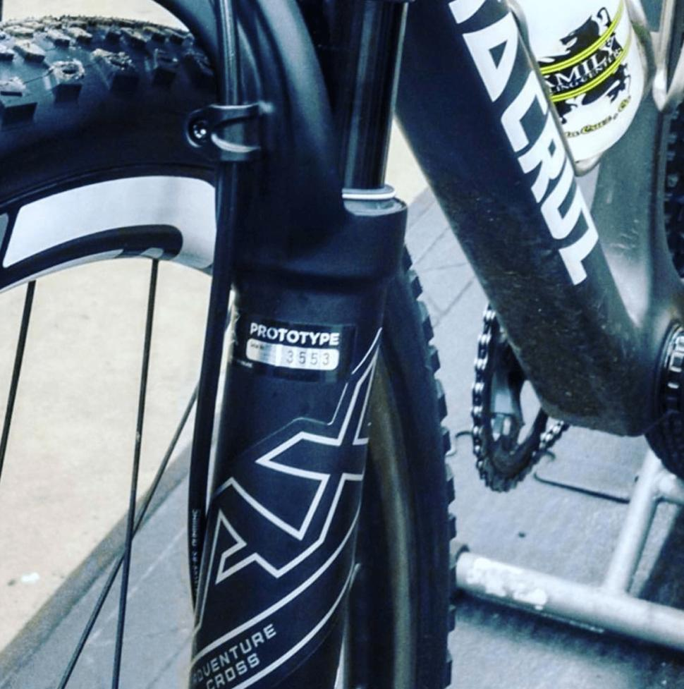Is Fox about to release an Adventure Cross suspension fork