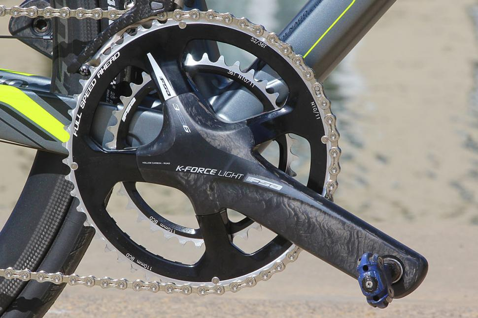 FSA K-Force Light 52/36 semi-compact chainset