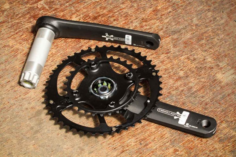 FSA Energy Modular 46x30 175mm Crankset BB386EVO NEW!