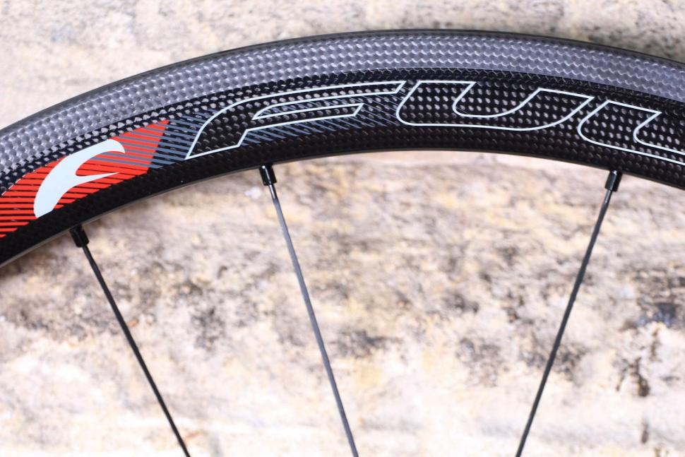 Fulcrum Speed 40T Road Bike Wheel - rim.jpg