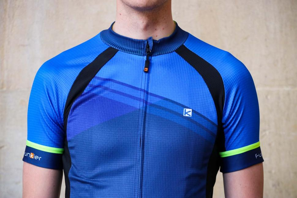 Funkier F-Ride Active Leisure SS Jersey in Blue - chest.jpg