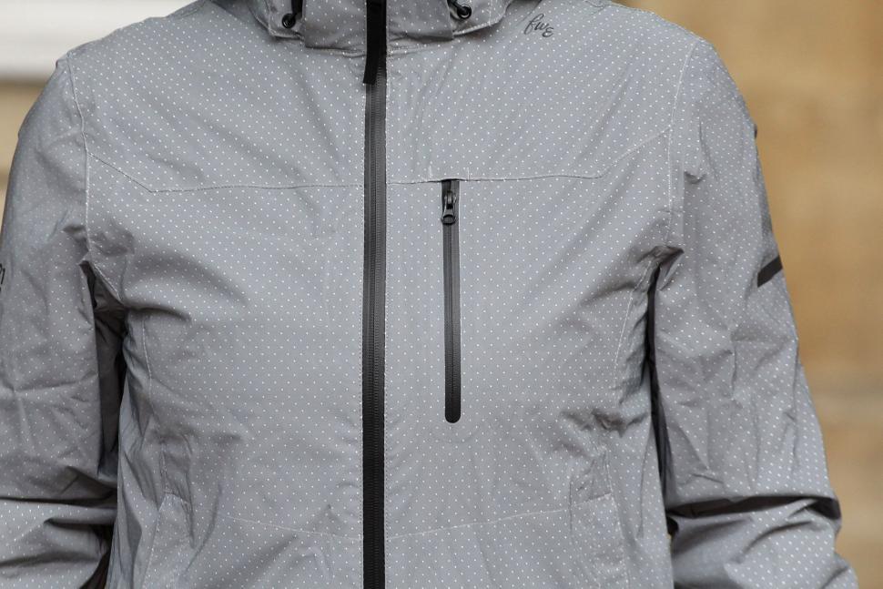 FWE Womens Kennington FX Reflective Waterproof Jacket - chest.jpg 788836ae5