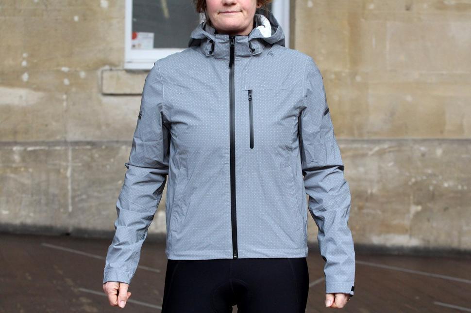 Review  FWE Women s Kennington FX Reflective Waterproof Jacket  b9c792392