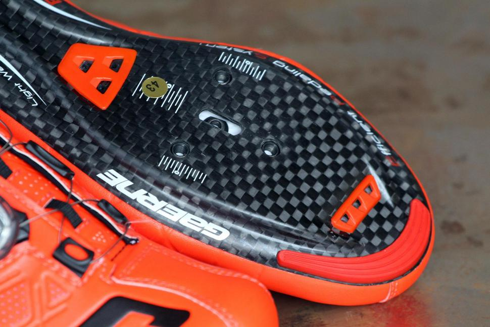 Gaerne Carbon G .Stilo Spd-SL Road Shoes 2017 - sole toe.jpg
