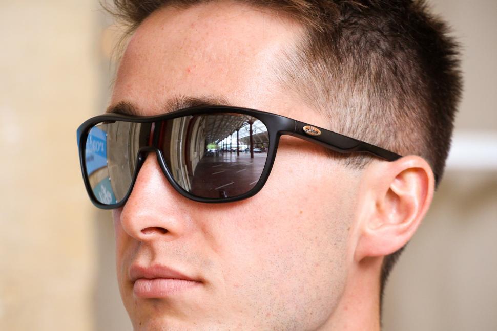 Galibier Surveillance Precision Optics glasses - Matt Black and Smoke - worn.jpg