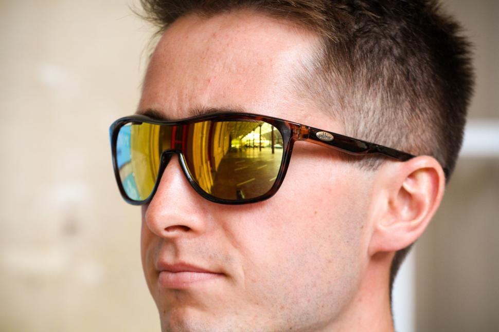 Galibier Surveillance Precision Optics glasses - Tortoiseshell and gold - worn.jpg