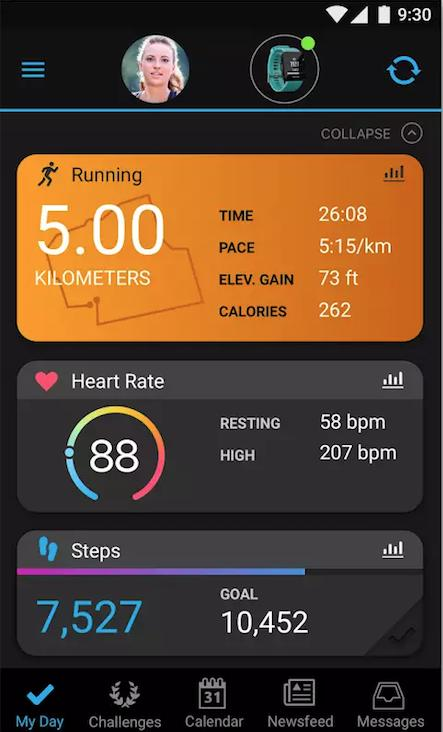Garmin Connect Mobile App >> Garmin Connect Mobile App Gets A Revamp With Colourful New Dashboard