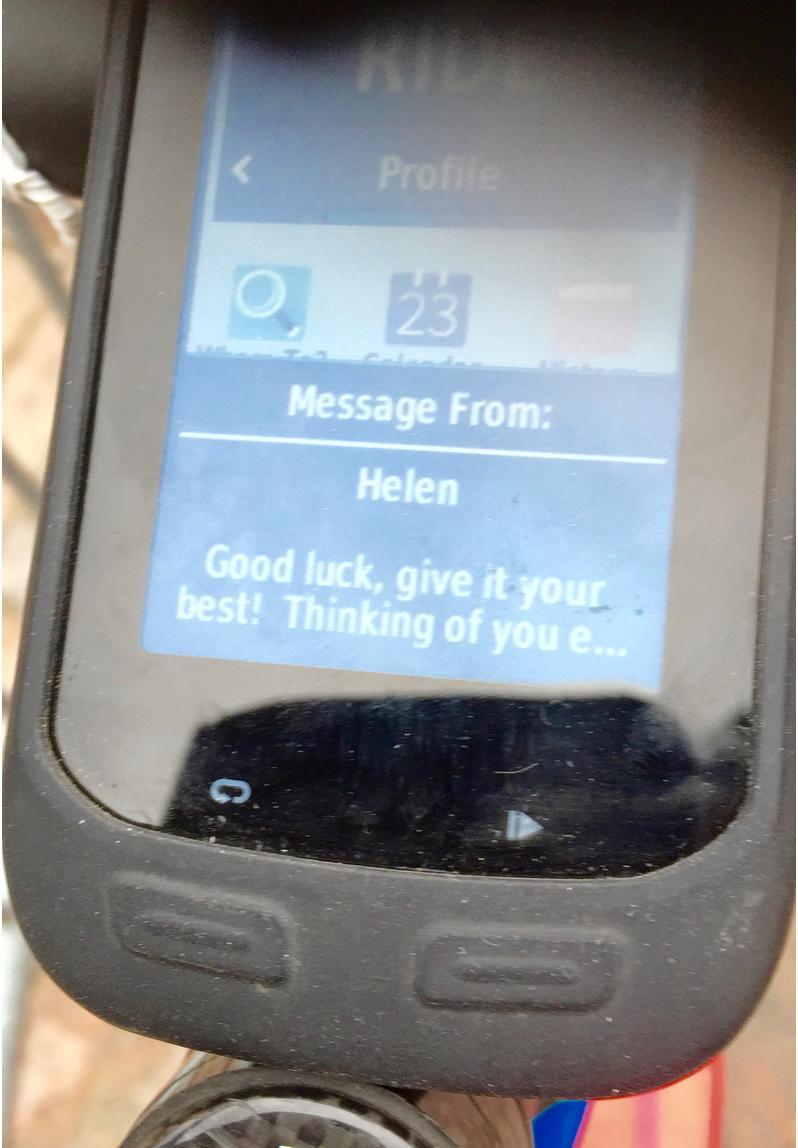 Garmin messages