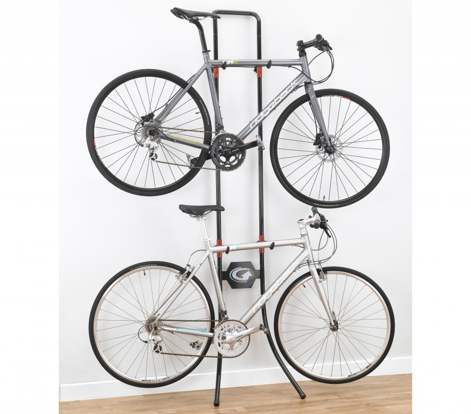 Al Alloy Folding Mountain Bicycle Parking Rack Electric Bike Wall Hook Display