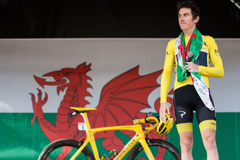 Geraint Thomas Cardiff homecoming 2018 (picture copyright) Charlie Forgham-Bailey, SWpix.com_
