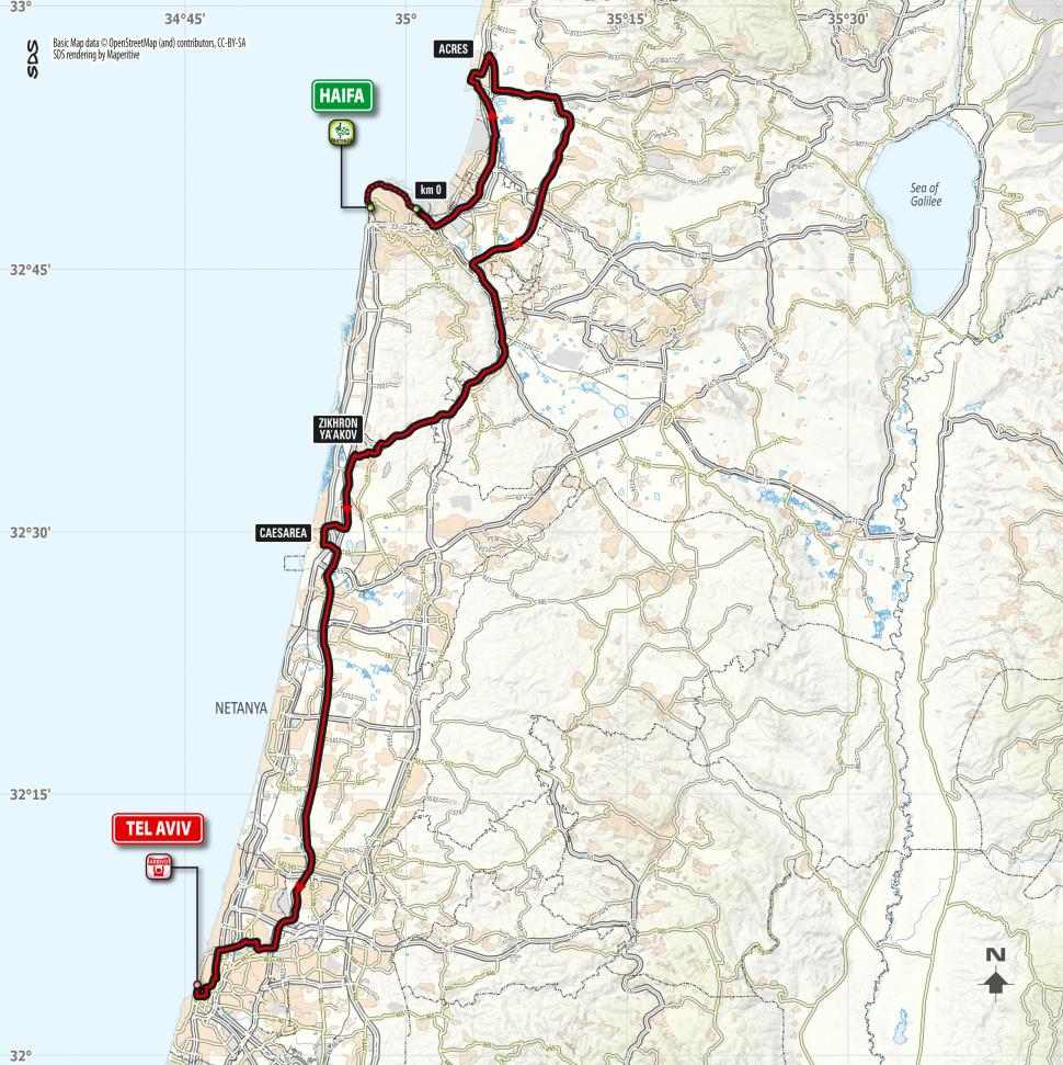 Giro d'Italia 2018 Stage 02 map.jpg