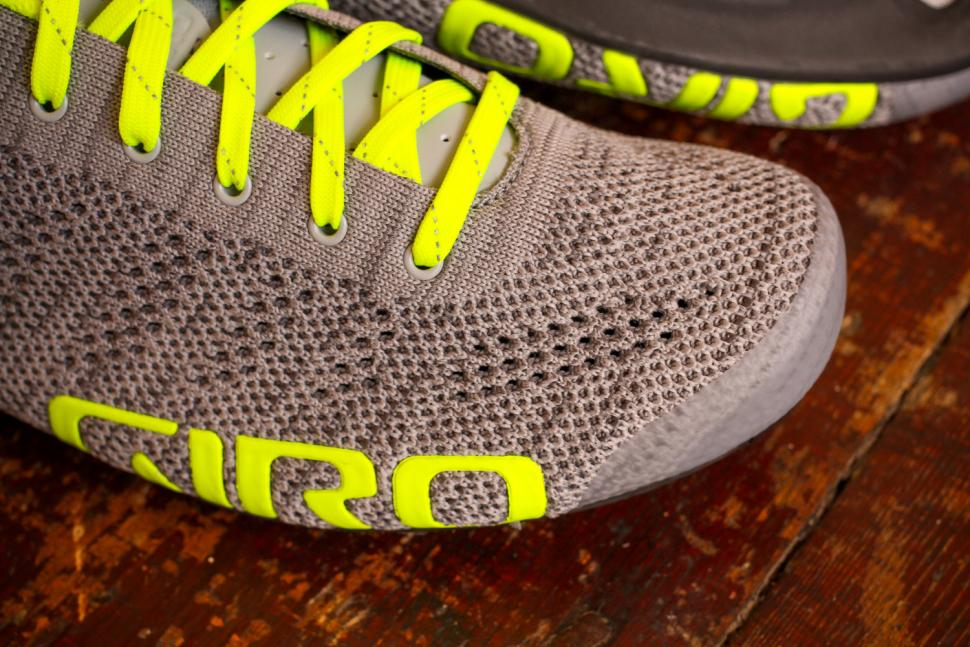Giro Empire E70 Knit Road Cycling Shoes - toe.jpg