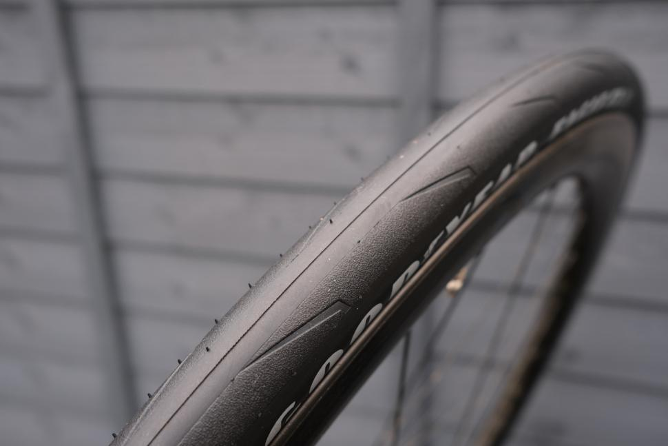 Black Goodyear Eagle F1 Clincher Tire 700x25C Folding Road Bike Tyre Skinwall