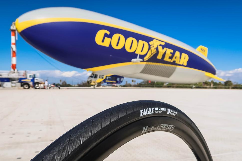 Goodyear back in the cycling tyre
