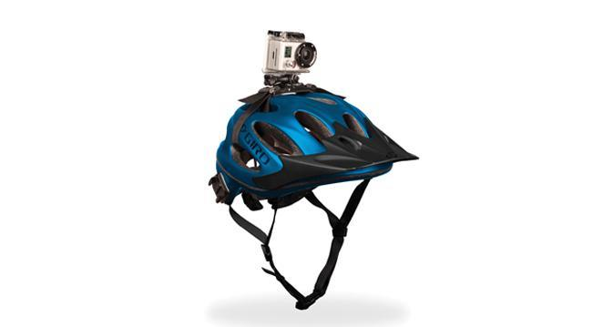 GoPro HD Hero2 helmet mounted