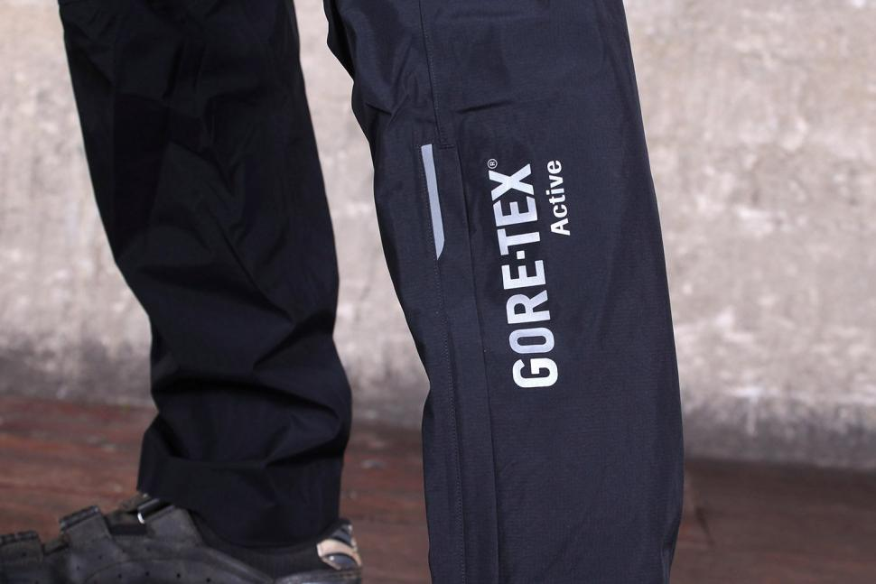 Gore Bike Wear Mens Power Trail Gore-Tex Active Pants - leg logo.jpg